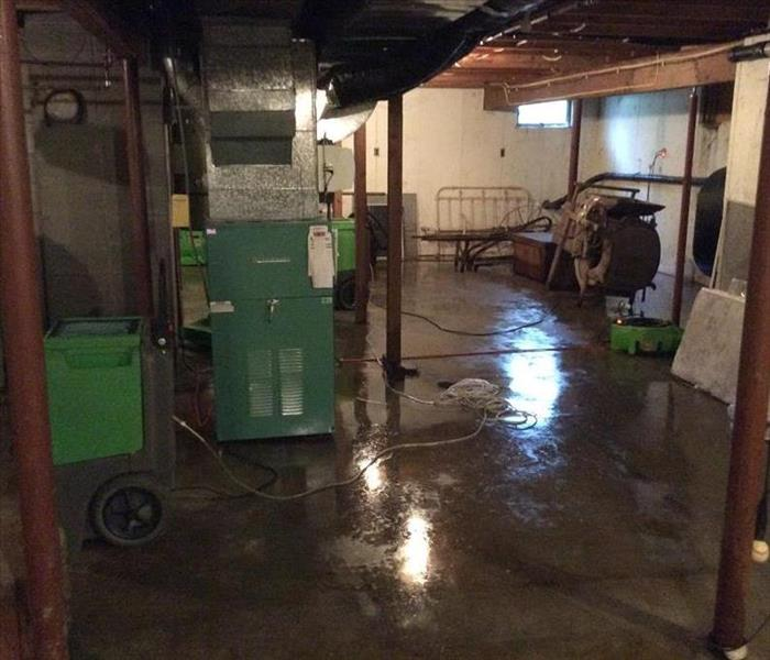 Water Damage Faster remediation means less damage