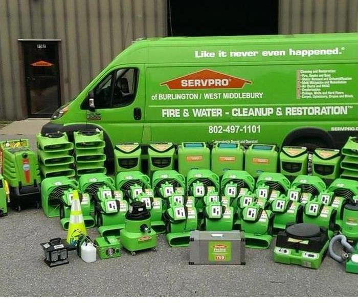 General Have an emergency? - Call SERVPRO of Burlington/Middlebury
