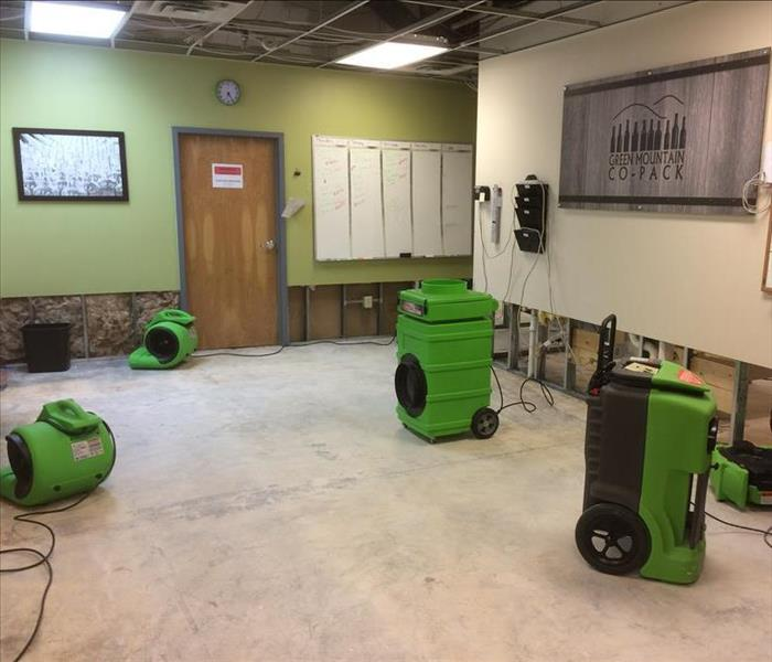 Commercial SERVPRO + Construction