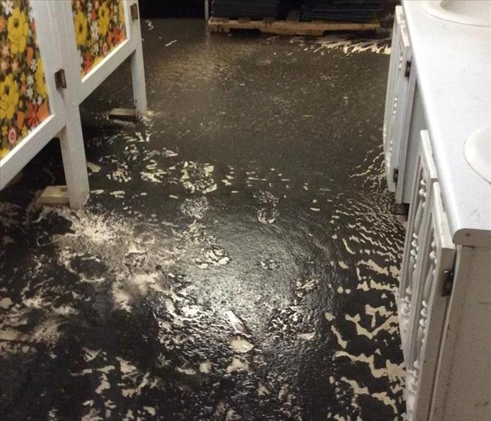 Commercial Flooded Church Basement in Montpelier
